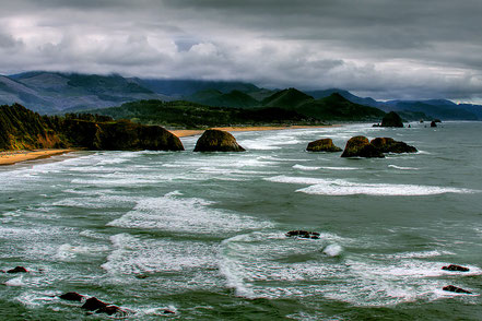 View from Ecola - Cannon Beach, Oregon - NWCB003