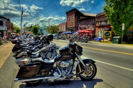 Bikes and Brews 2016 in Old Forge, NY - ADKO031