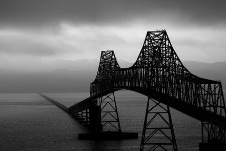 The Astoria Bridge - Astoria, Oregon  - BW003