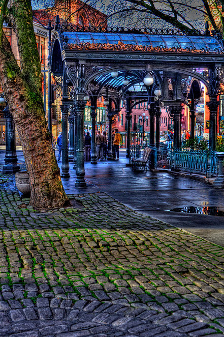 Pioneer Square in Seattle - NWS005