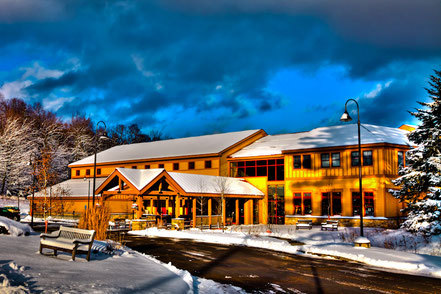 View Arts Building - Old Forge, New York - ADKO008