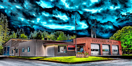 The Old Forge Fire Dept - Old Forge, New York - ADKO021