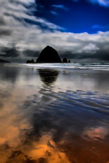 Reflected Glory - Cannon Beach, Oregon - NWCB009