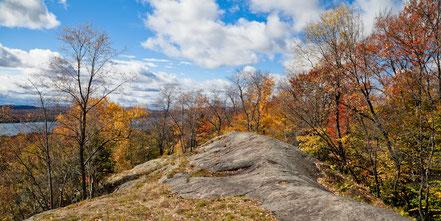 Autumn Above Eagle Bay New York - ADKA007