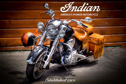 The Indian Motorcycle - MCCC015