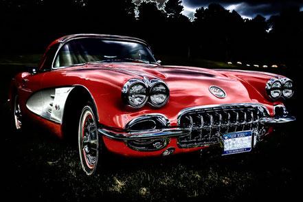 1960 Chevy Corvette Night Rider - MCCC004