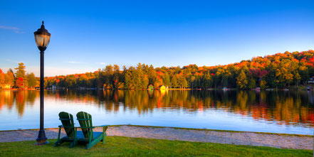 Autumn View for Two - Old Forge, NY - ADKC016