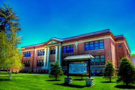Town of Webb Schools Building - Old Forge, NY - ADKO020