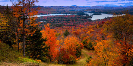 View from McCauley Mountain II - Old Forge, NY - ADKA002