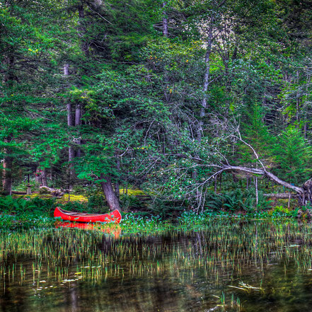 The Red Canoe - Old Forge, NY - ADKCK001