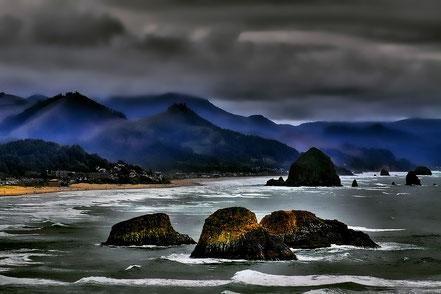 Coastal Mist - Cannon Beach, Oregon - NWCB005