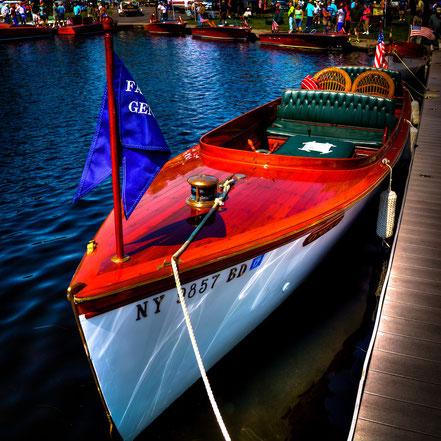 Vintage 1914 Fay and Bowen Boat - MCVB004