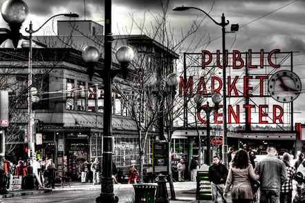 The Famous Pike Place Market - Seattle, WA - NWS001
