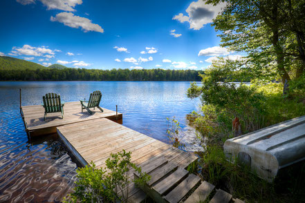 A Spring Day on West Lake, Old Forge, NY - ADKC009