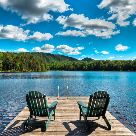 Calm in the Adirondacks- Old Forge, NY - ADKC012