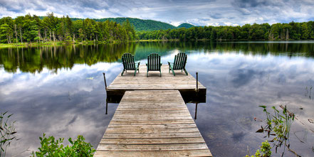 A View of West Lake - Old Forge, NY - ADKC014