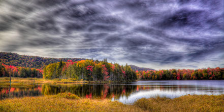 West Lake Panorama - Old Forge, NY - ADKA020