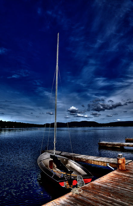 The Sailboat - At The Woods Inn - Inlet, NY - ADK021