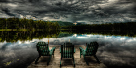 Waiting for Sunset - West Lake - Old Forge, NY - ADKC005