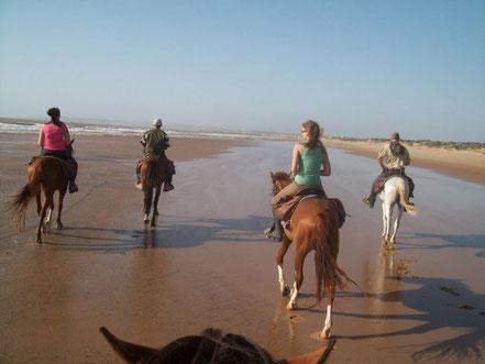 randonnée au bord de mer