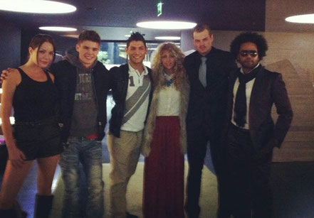 Deichmann - Angelina Jolie, Justin Bieber, Shakira, Leonardo DiCaprio & Lenny Kravitz.