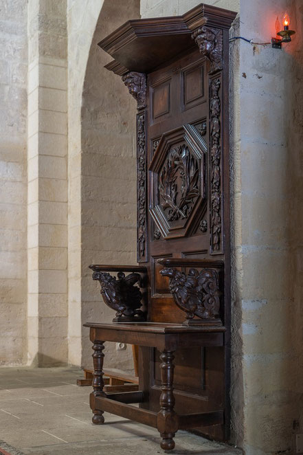 Bild: Église Saint-Sébastien in Goult, Vaucluse, Provence