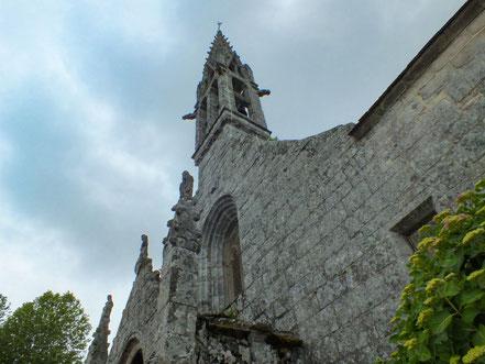 Bild: Le Église Notre-Dame Izel-Vor in La Forêt-Fouesnant in der Bretagne