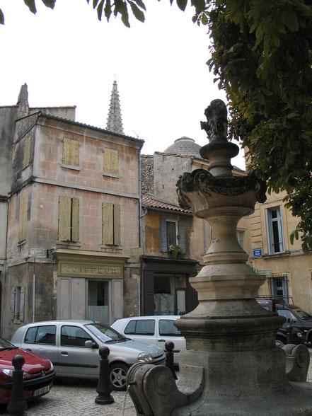Bild: Brunnen am Place Favier in St-Rémy-de-Provence