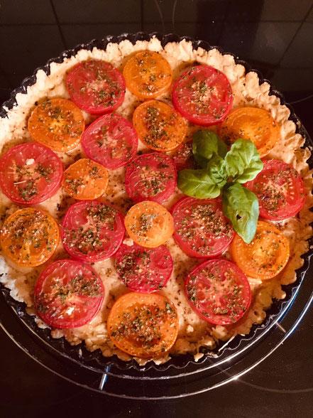 Bild: Rezept Tarte à la Tomate