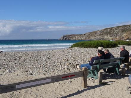 Bild: Strand bei Pors-Poulhan