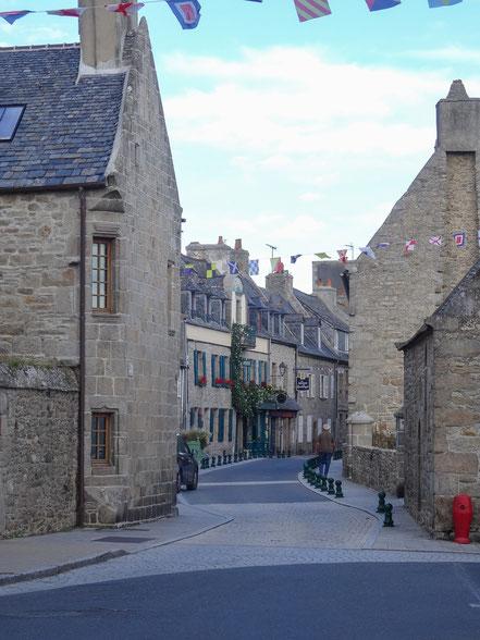 Bild: Straße in Roscoff