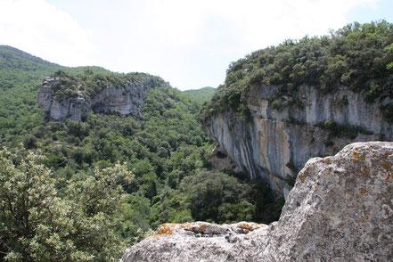 Bild: Umfeld Fort de Buoux