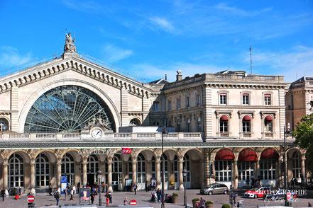 Bild: Gare de l´Est in Paris