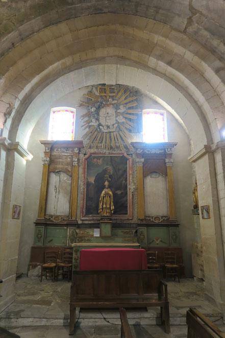 Bild: Kirche von Venasque, Vaucluse, Provence