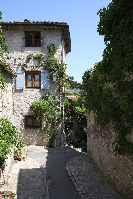 Bild: in der Altstadt von Vaison-la-Romaine
