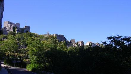 Bild: Les Baux-de-Provence mit Château