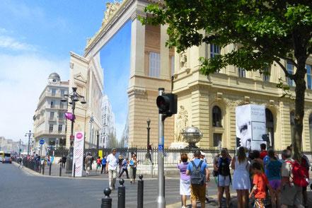 Bild: Bourevard La Canabière in Marseille