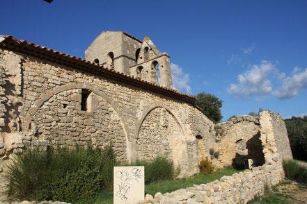Bild: Chapelle Notre-Dame-de-la-Roque in Jouques