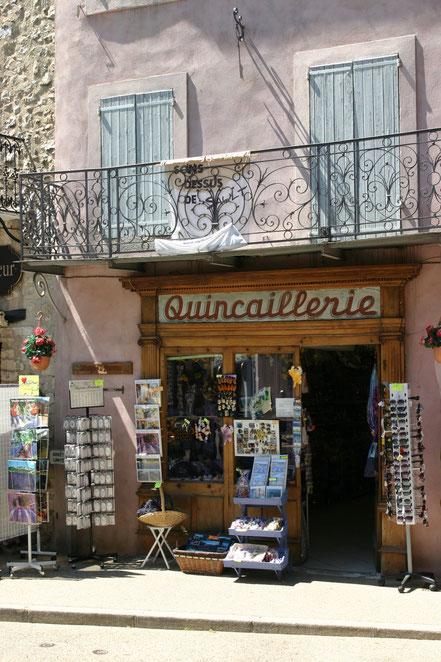 Bild: Geschäft in der Provence