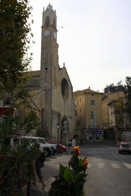 Bild: Notre-Dame-du-Bourguet in Forcalquier