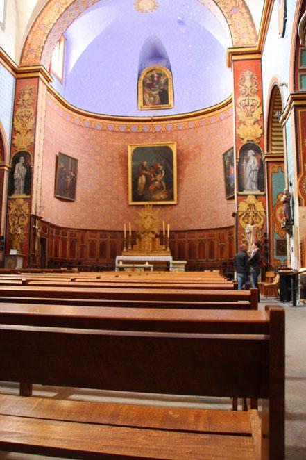 Bild: Kirche Saint Firmin in Gordes