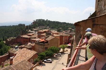 Bild: Aussichtsplattform in Roussillon