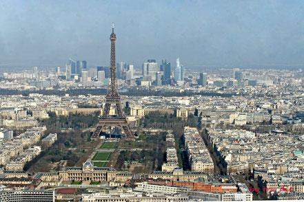 Bild: Ausblick vom Tour Montparnasse