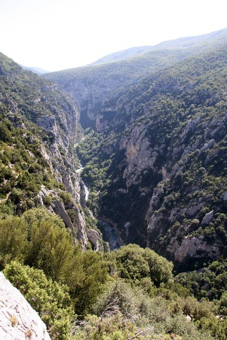Bild: Gorges du Verdon vom Belvédére de Mayreste