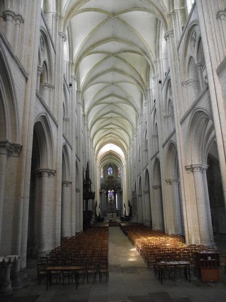 Im Innern der Abteikirche