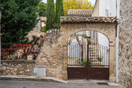 Bild: Mérindol im Luberon