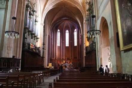 Bild: cathédrale Saint Sauveur in Aix-en-Provence