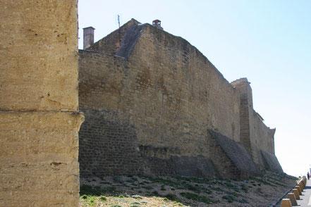 Bild: Stadtmauer mit Aussichtsturm in Courthezon
