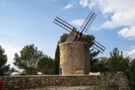 Bild: Moulin de Ventabren in Ventabren im Bouches du Rhône