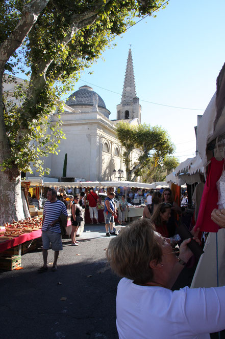 Bild: Kirche St-Martin in St-Rémy-de-Provence